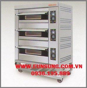 Lò nướng gas 3 tầng BSP-G180-3N