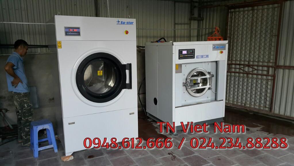 Bán máy giặt công nghiệp nhập khẩu giá rẻ Đài Loan