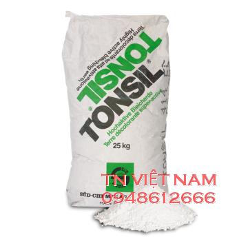 Tonsil bột lọc dung môi hóa chất giặt khô