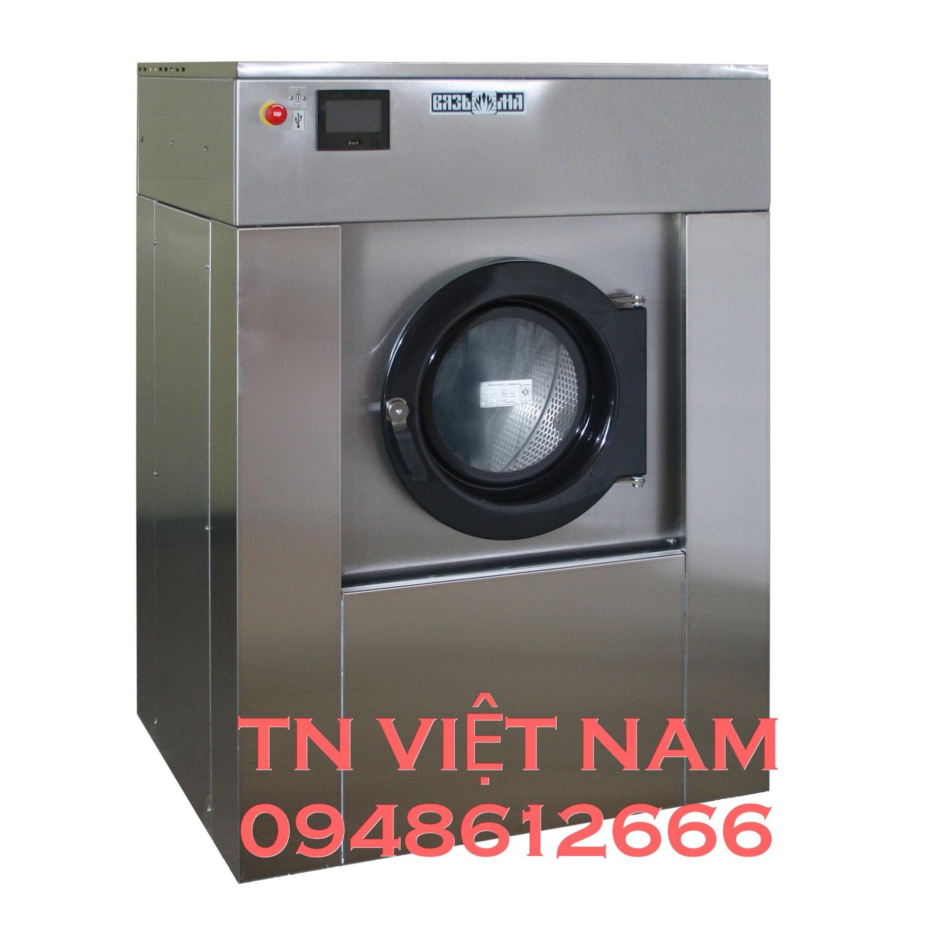 Máy giặt công nghiệp lồng treo VYAZMA công suất 20kg - Model VO-20 Nga